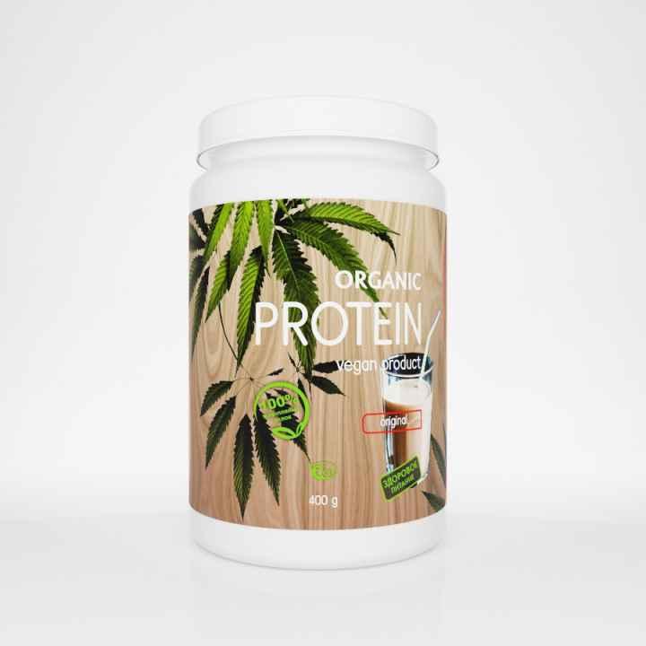 Конопляный протеин Organic, 400 гр