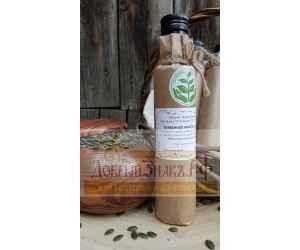 Масло тыквенное, деревянный пресс