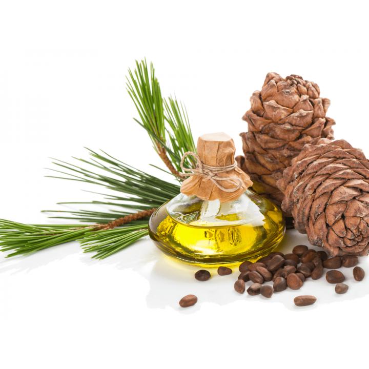Сыродавленное кедровое масло, деревянный пресс