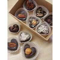 Натуральные шоколадные конфеты ассорти