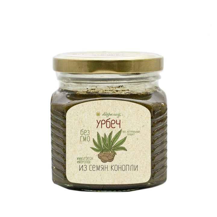 Урбеч из семян конопли, 230 гр.