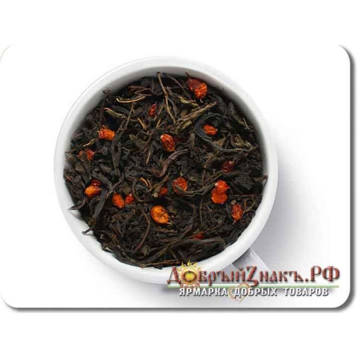 СЗ Иван-чай ферментированный с облепихой, (на вес)